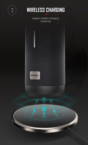 wireless Charging Bluetooth speakers