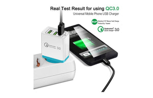 Soundtech Qualcomm 3.0 Fast Charge Wall Charger