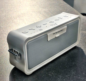 shockproof white bluetooth speaker