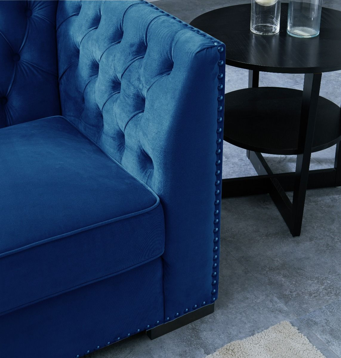Chesterfield 3 Seater Sofa - Royal Blue
