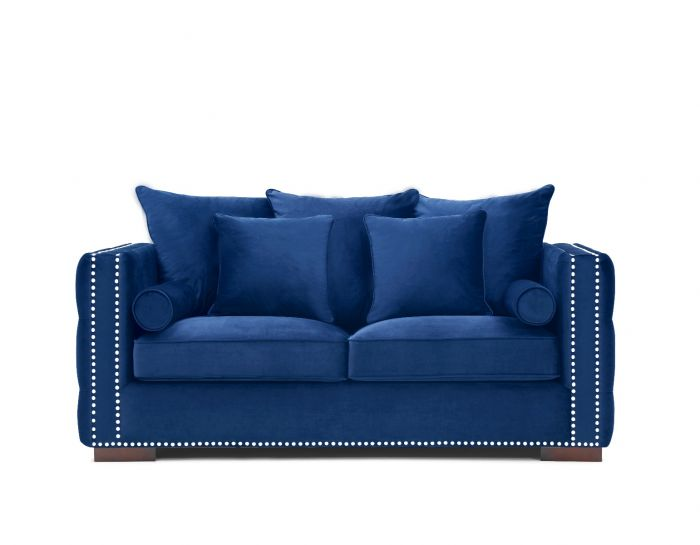 Moscow 2 Seater Sofa - Royal Blue