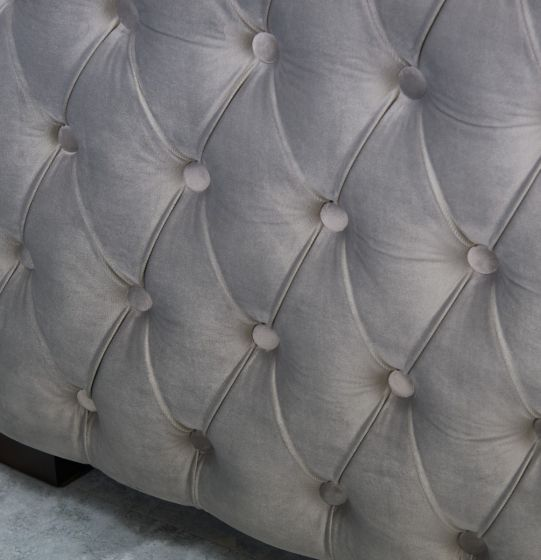 Moscow 2 Seater Sofa - Silver