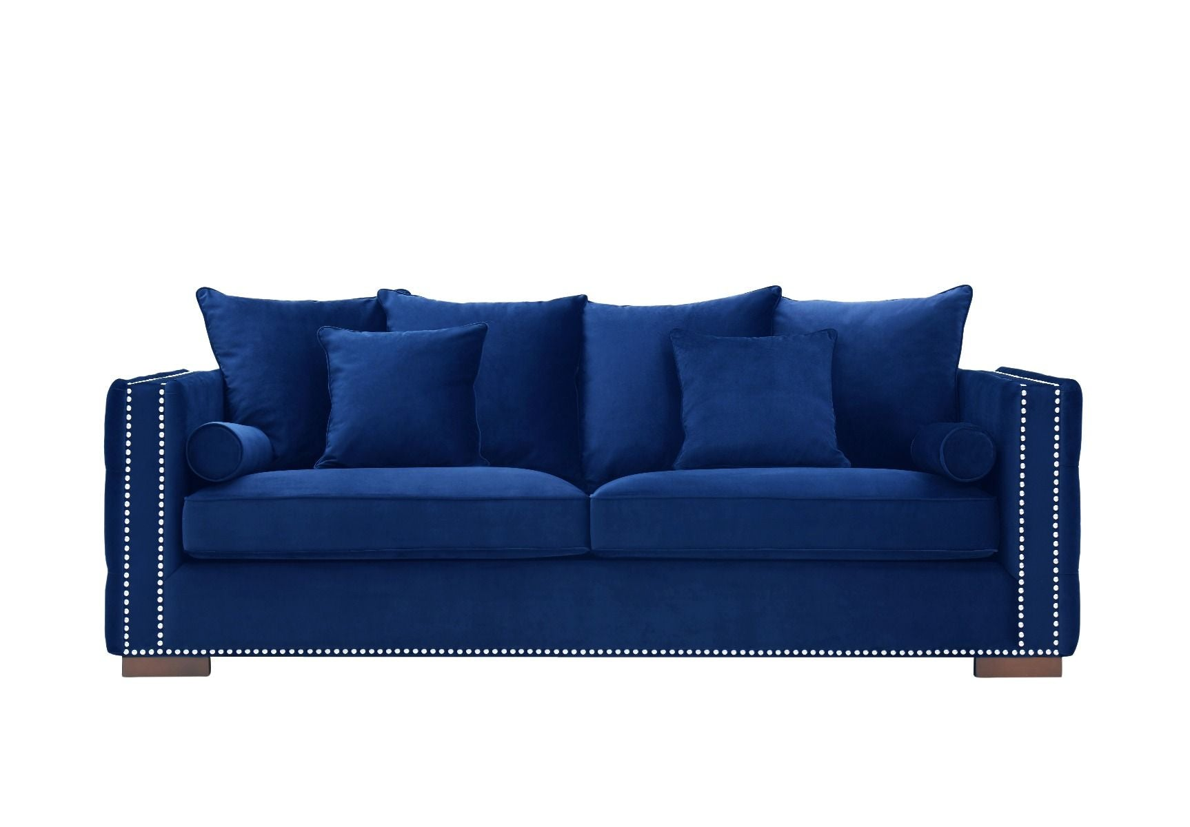 Moscow 3 Seater Sofa - Royal Blue