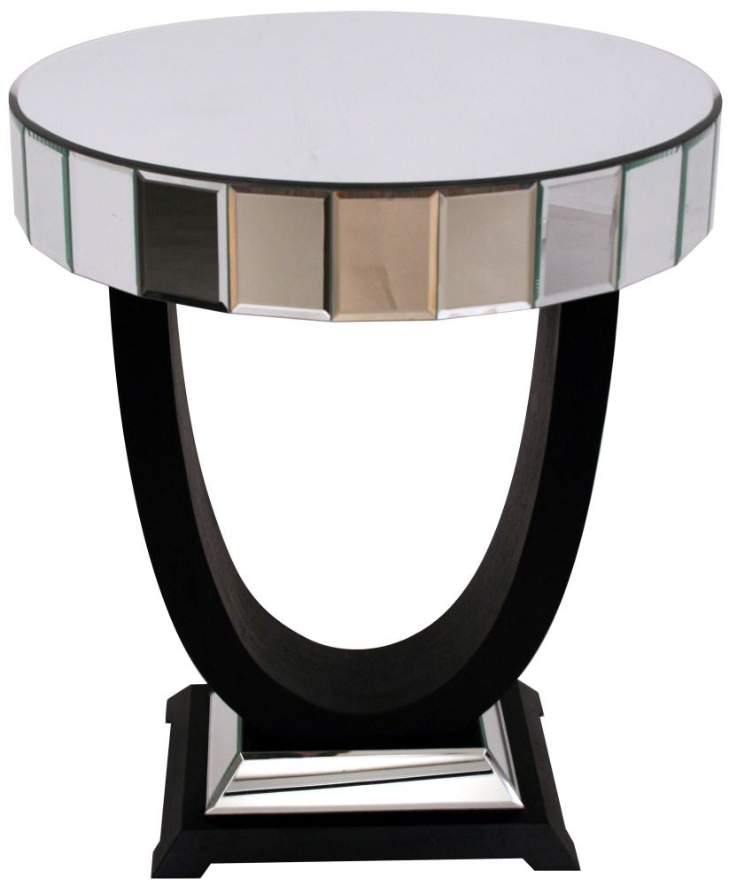 Object Mirrored Side Table
