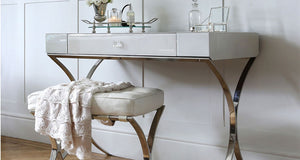 Iced Ivory Sovana Dressing Table