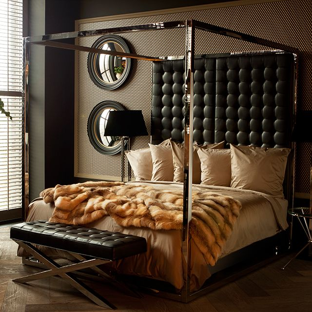 Gansevoort Bed Black