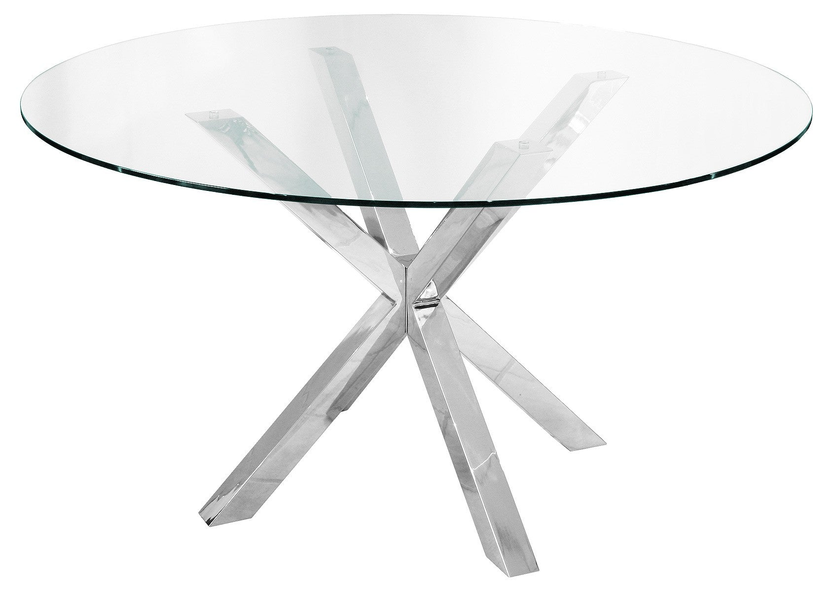 Crossly Round Dining Set - White
