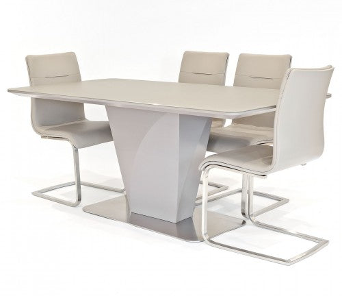 Talia Taupe Dining Set