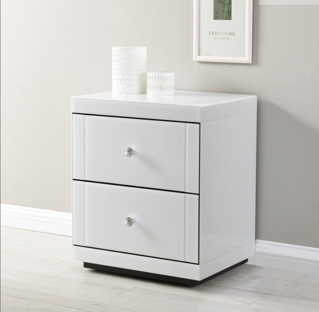 Hollywood Bedside - White