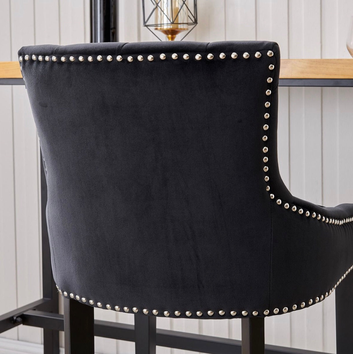 Sydney Bar Stool - Black