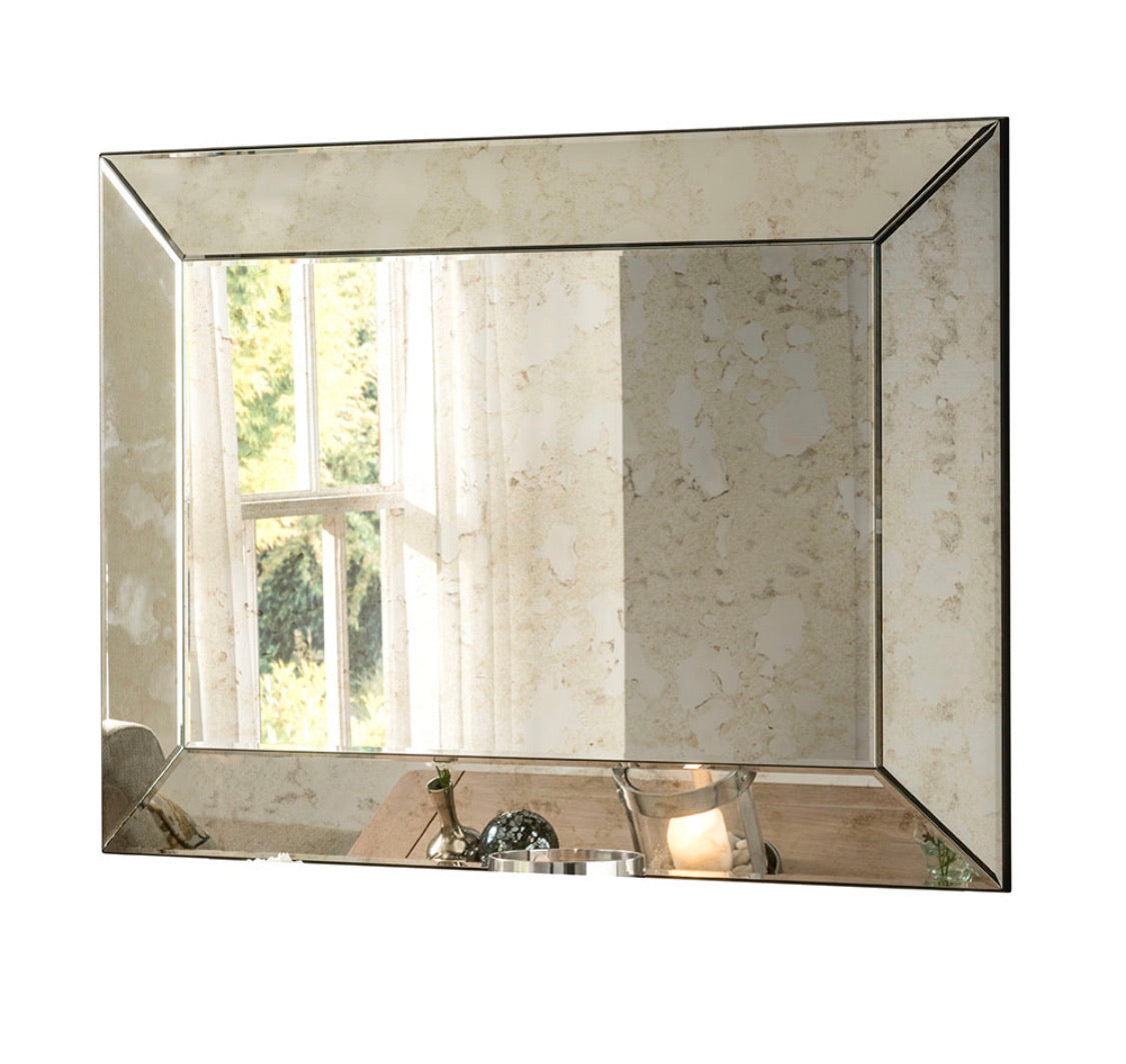 Lyon Reverse Antique Mirror