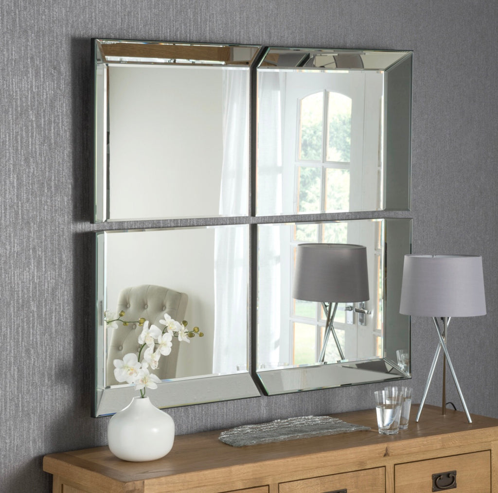 Byblos 4 Piece Mirror