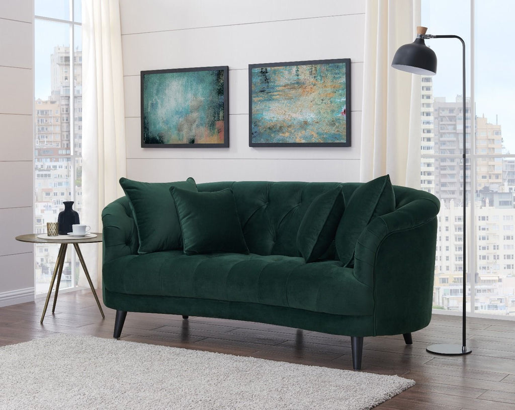 Sophia Green Love Seat