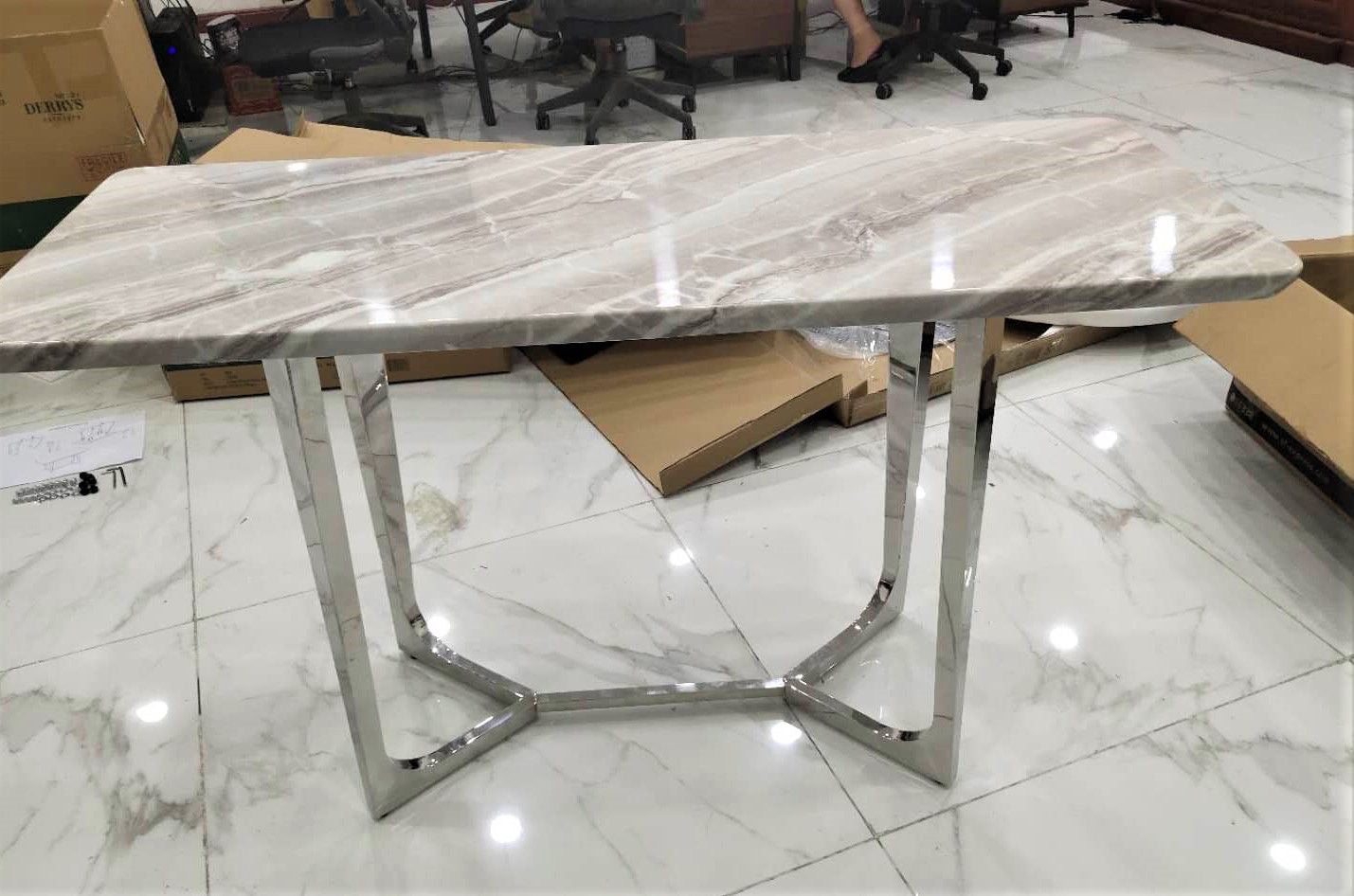 Sorrento Grey Dining Table