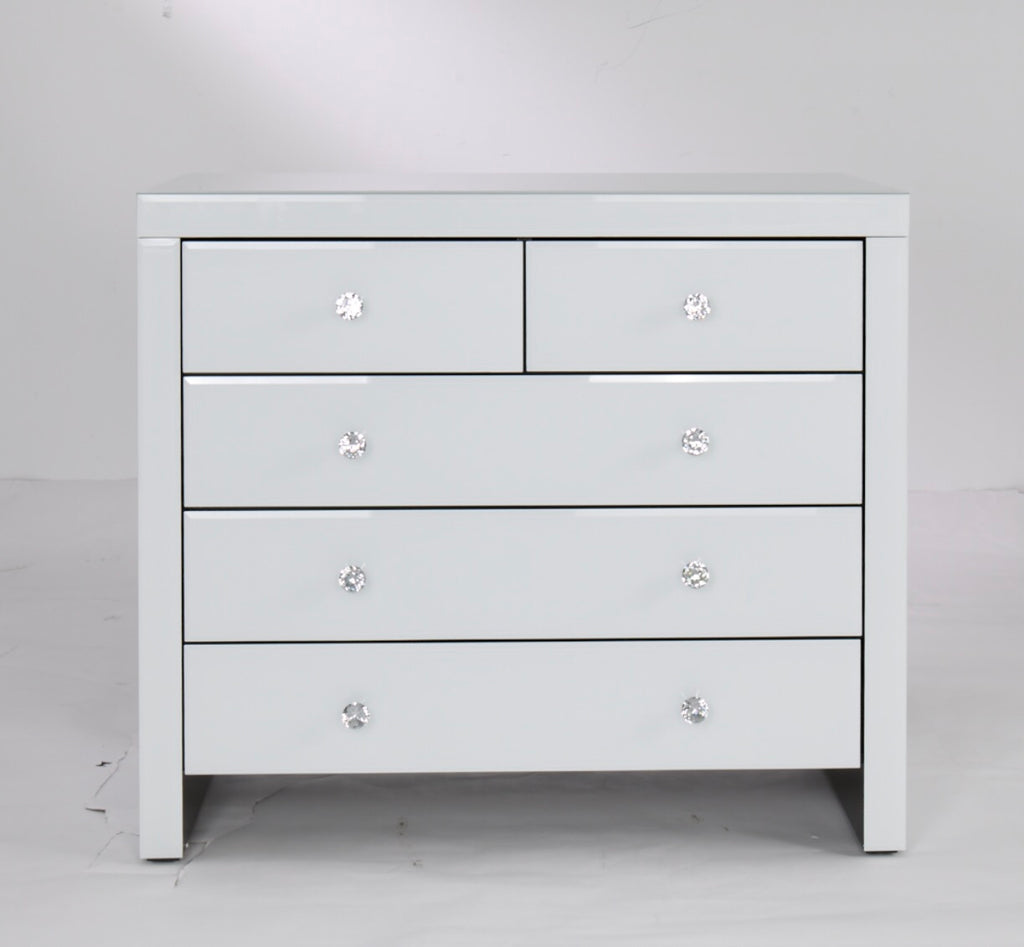 Hollywood Chest of Drawers - White
