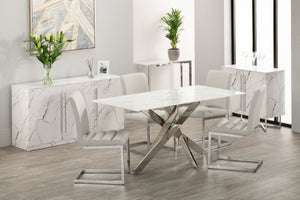 Sorrento Rectangular Dining Table Set