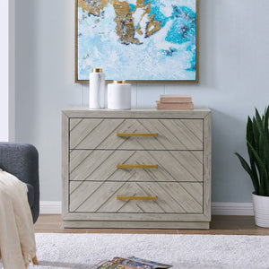 Athens 3 Drawer Chest