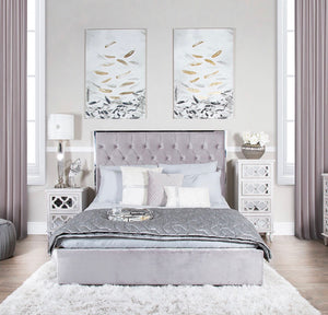 Monte Carlo Bed Frame - Grey