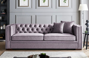 Montreal 3 Seater Sofa - Slate Grey