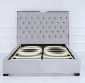 Monte Carlo Grey Bed Frame