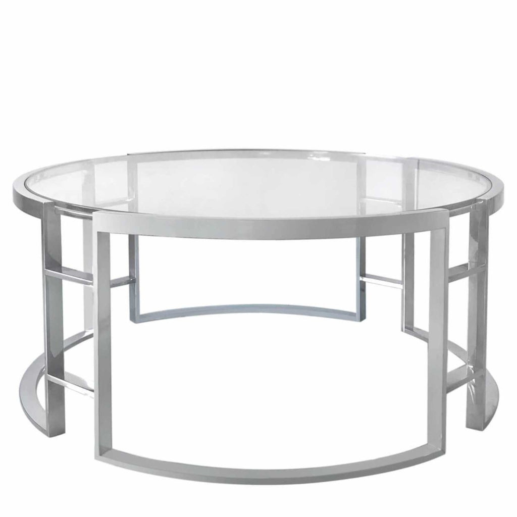 Newbury Chrome Coffee Table