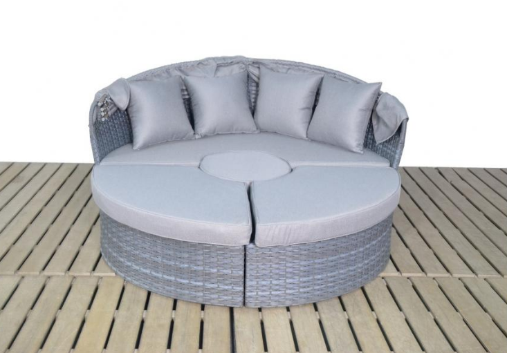 Platinum Grey Large Daybed