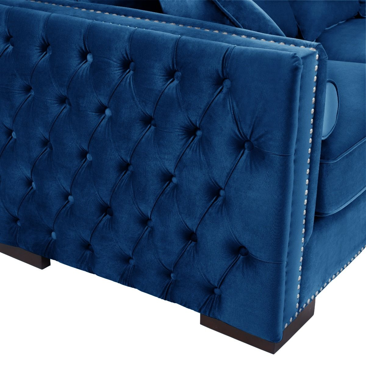 Moscow Corner Suite Right Sided - Royal Blue
