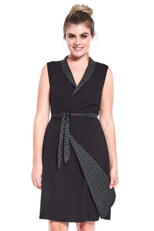 Reversible Rhianna Wrap Dress