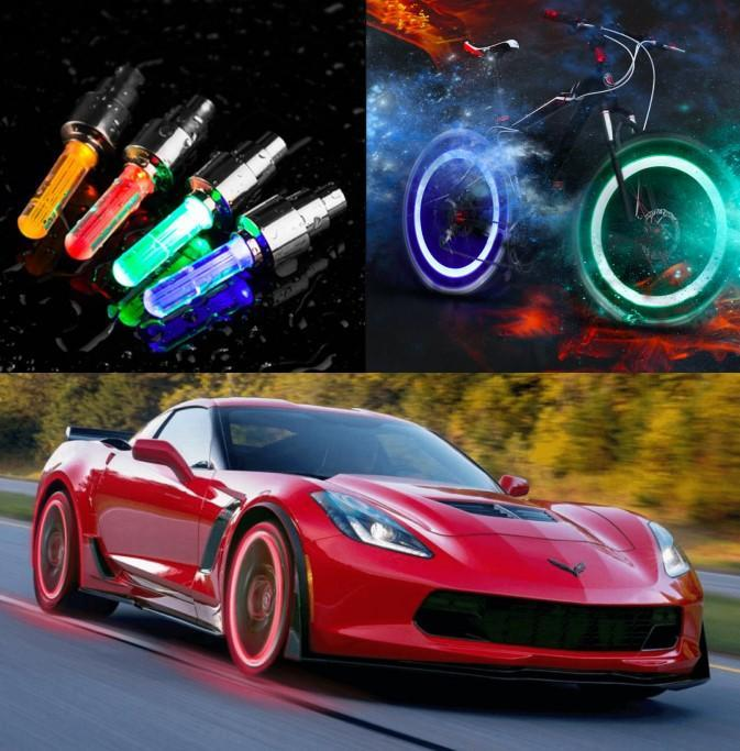 2PCS Last Promotion-Waterproof Led Wheel Lights-FREE SHIPPING for 4 SETS