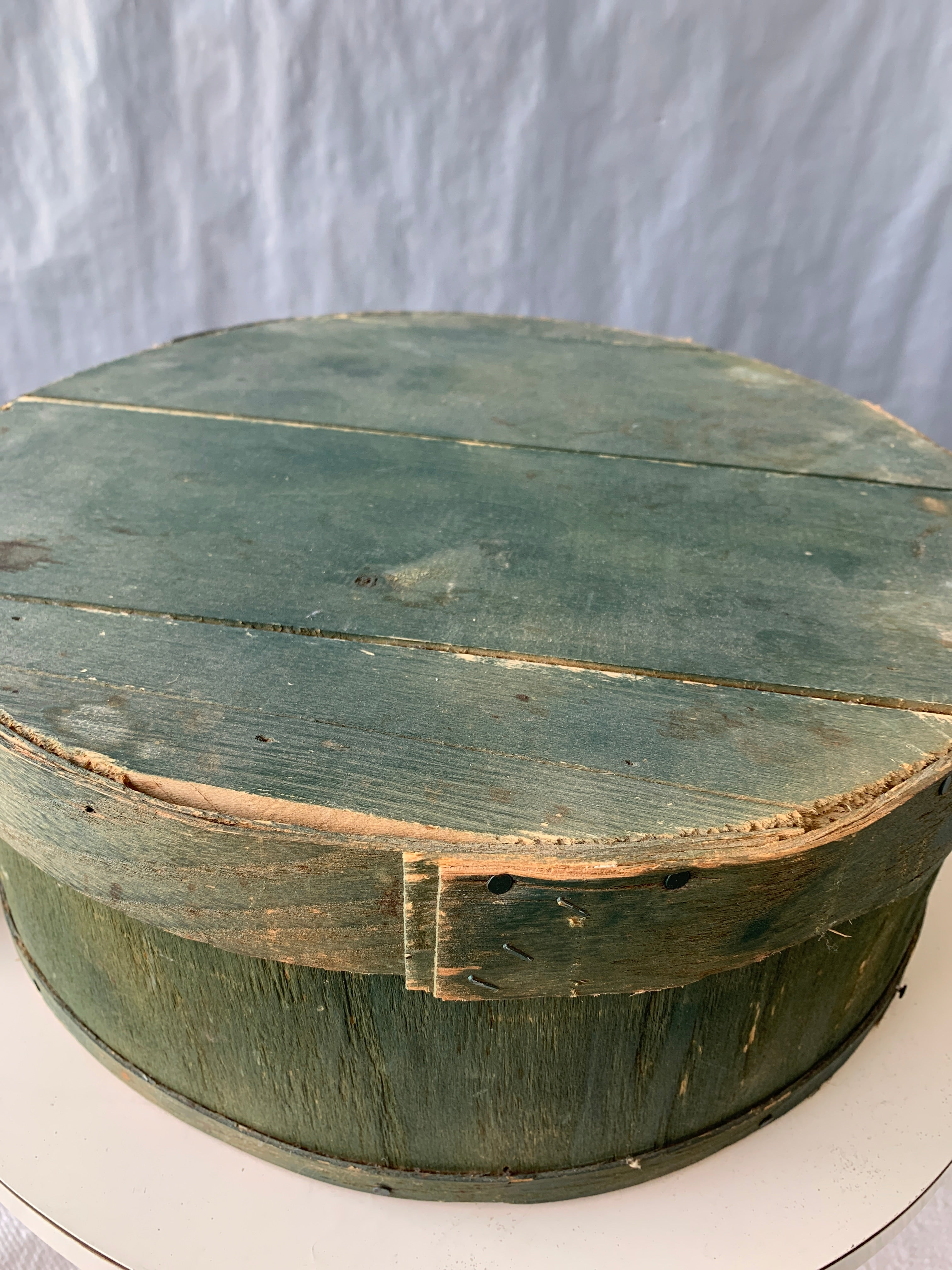 Primitive wood cheese box