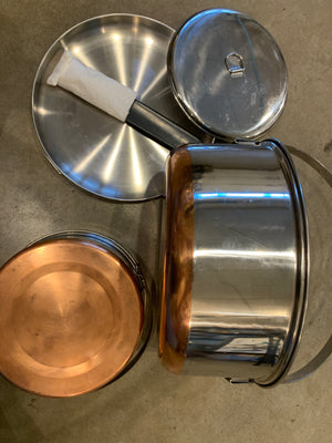 Camp Cook  Set / Five Piece
