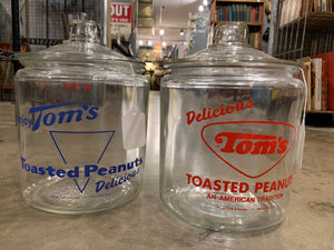 Tom's Peanut Jars: Red Available