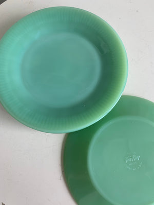 Jadeite Salad Plate $14 each. Six available.