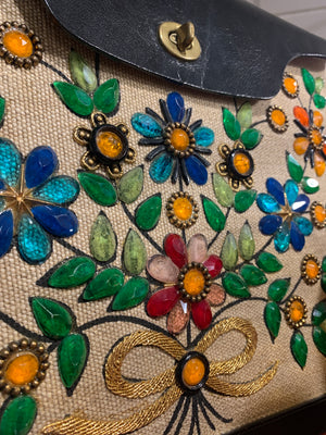 Jewel Bokay Enid Collins vintage purse