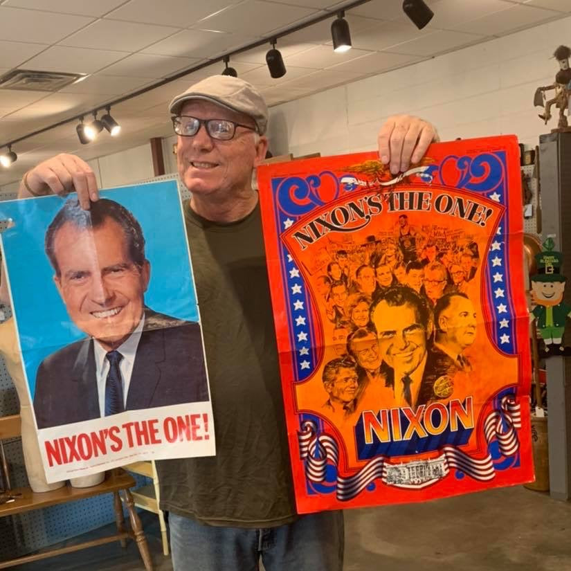 Original Nixon posters from River City Records