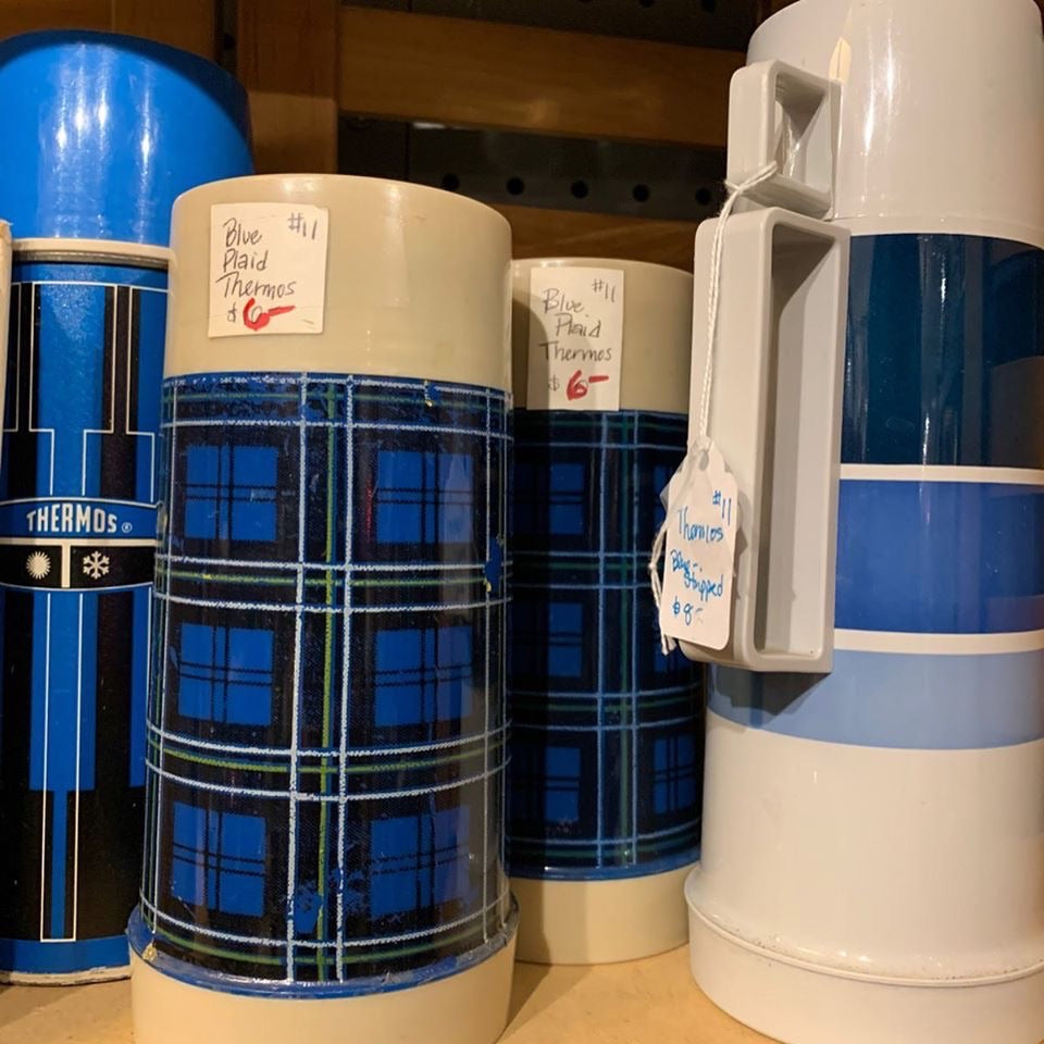 Vintage thermos assortment