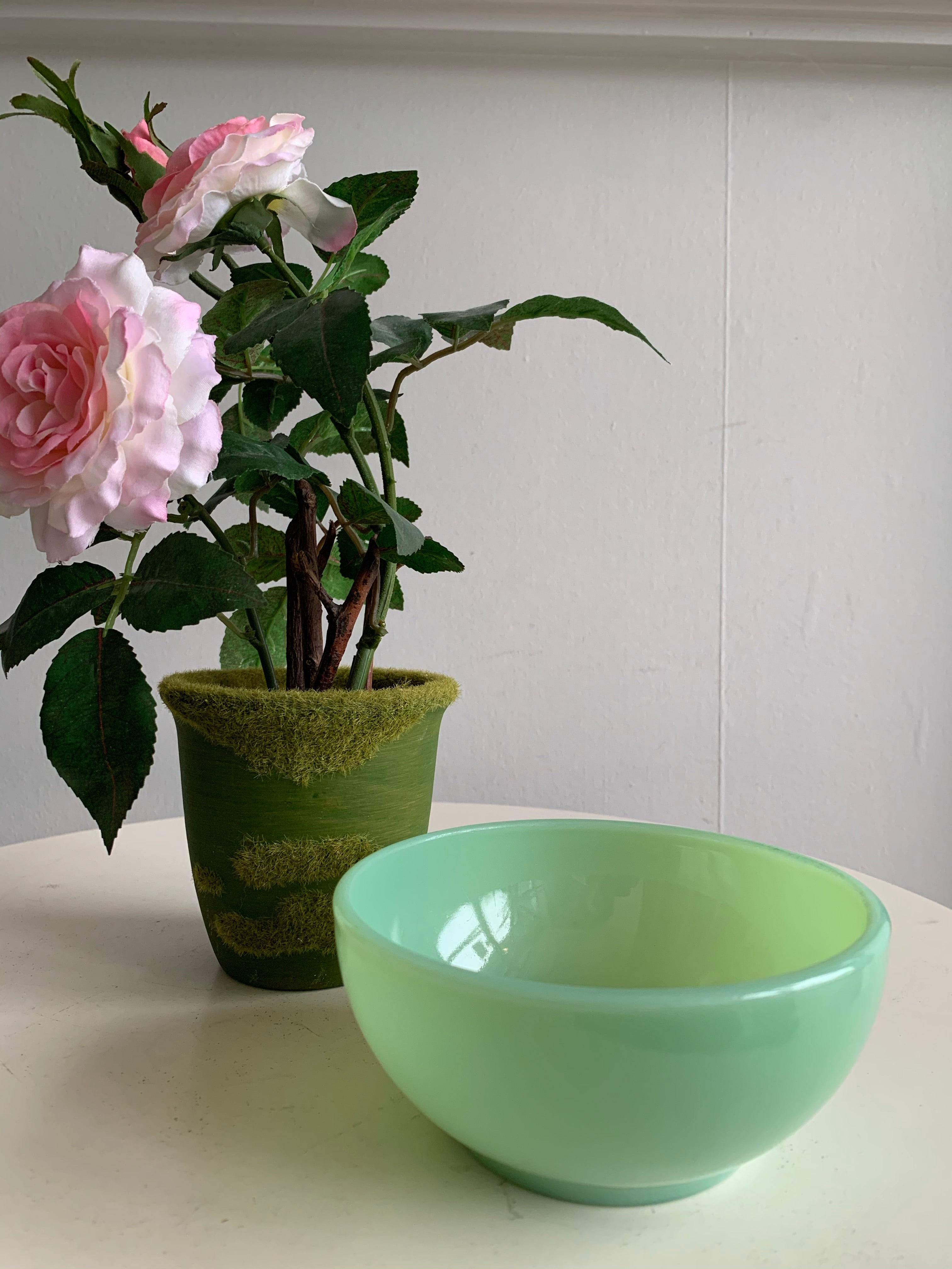 Small Fire King Jadeite bowl