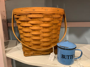 Longaberger basket with original liner