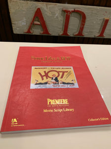 Some Like It Hot Collectors Edition Screenplay