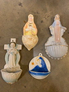 Choice / Vintage Holy Water Fonts / First Buyer Gets Choice