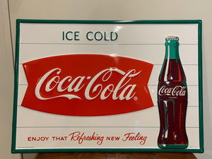 Reproduction Coke Sign