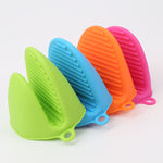 Colorful Insulated Silicone Heat Pot Glove for Microwave or Oven (1 Piece)