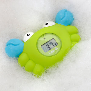 Digital Bath & Room Thermometer - Crab