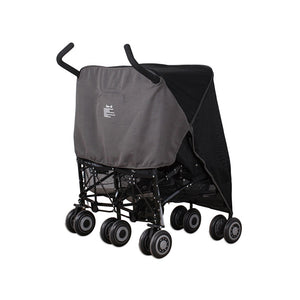 Sun & Sleep Double Stroller Cover