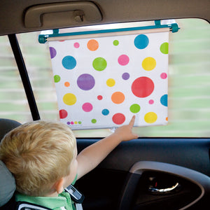 Spotty Car Sun Shade