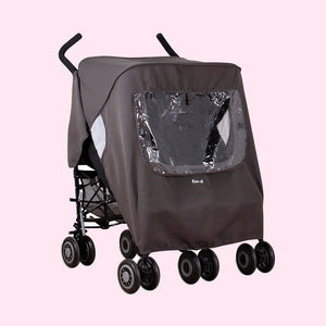 pack-it Keep Us Dry! Double Stroller Rain Cover
