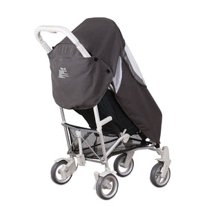 Pack-It Keep Me Dry Universal Stroller Rain Cover - Grey
