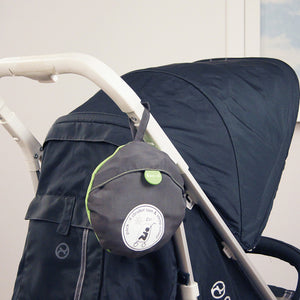 Pack-It Sun & Sleep Double Stroller Cover - Grey