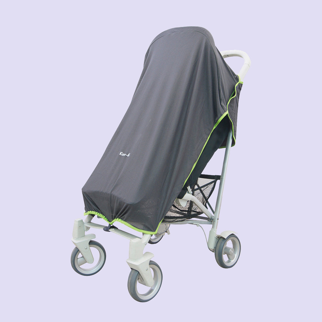 Pack-It Sun & Sleep Universal Stroller Cover - Grey
