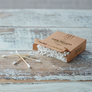 BAMBOO COTTON BUDS (100)